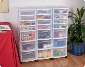 This  Drawer Cart Makes It Easy To Organize Craft Or Hobby Supplies By Labeling The Drawers Items Can Be Returned To Their Home Easily Helping To Keep