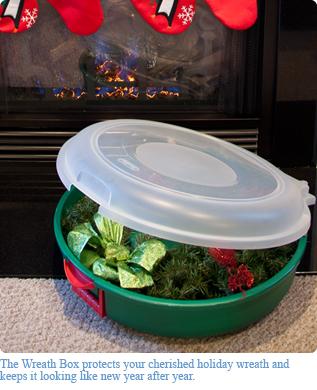 Wreath Box & Holiday 2011 - Sterilite Corporation